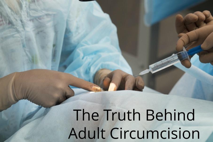 Adult circumcision technique